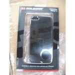 CUSTODIA X APPLE IPHONE 5 SCP20038 SWISS CHARGER IN ALLUMINIO NERO SATINATO