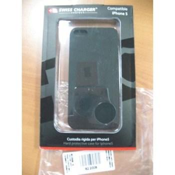 CUSTODIA X APPLE IPHONE5 SCP80038 SWISS CHARGER MODELLO PLASTICA RIGIDO