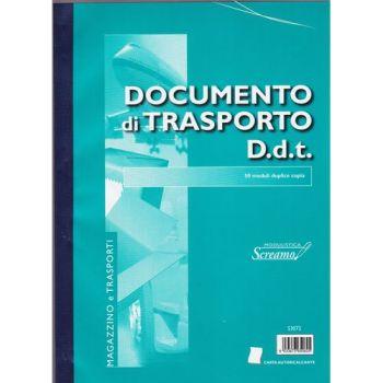 BLOCCO DOCUMENTO TRASPORTO 50/50 FG