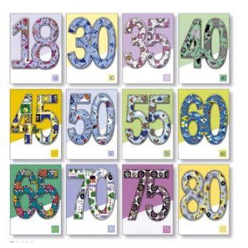 BIGLIETTI MINICARDS BIRTHDAY C.36