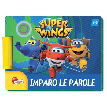 SUPER WINGS LIBROGIOCO PLUS IMPARO       LE PAROLE - N.I. IVA ART.74/C