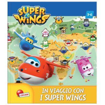 SUPER WINGS LIBROGIOCO SUPER IN VIAGGIO  CON I SUPER WINGS - N.I. IVA ART.74/C