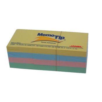 MEMO TIP 38X51 ASS. PASTELLO C.12