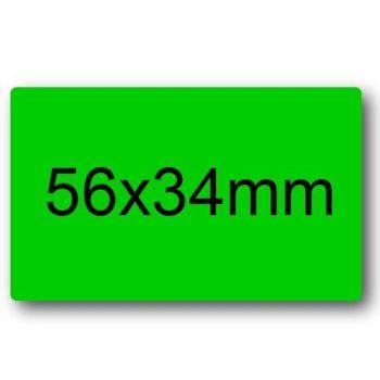 BUSTINE ETICHETTE 10 FOGLI 56X34