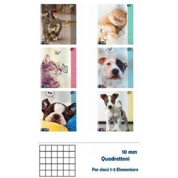 QUADERNO A4 MAXI SEVEN 96/100 ANIMAL 10M 6 ASSORTIMENTI