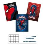 QUADERNO MAXI SPIDERMAN 80GR 20+1FF 10MM