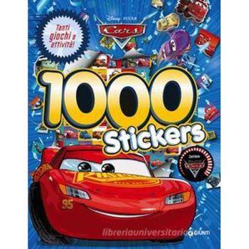 CARS 3 1000 STICKERS                     NON IMP. IVA ART.74/C