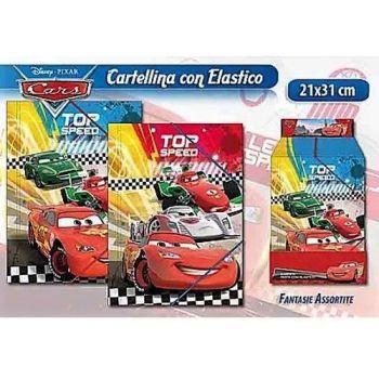 CARTELLINA CON ELASTICO CARS