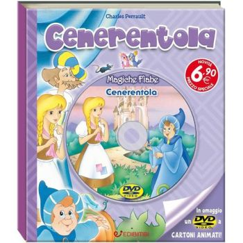 MAGICHE FIABE + DVD3 - CENERENTOLA       NON IMP. ART.74   20X23