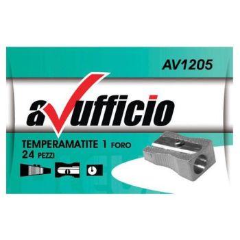 TEMPERINO 1 FORO METALLO  C.24