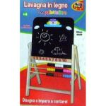LAVAGNA LEGNO C/PALLOTTOLIERE 38X69CM +3