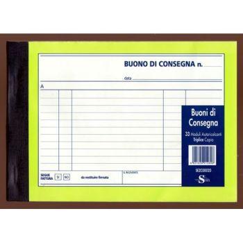 BLOCCO BUONO DI CONSEGNA 120X173