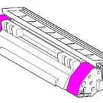 Lexmark 80C2HM0 Toner magenta rigenerato
