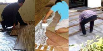 jasa pemasangan lantai kayu parket