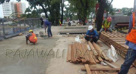 pemasangan lantai kayu 3