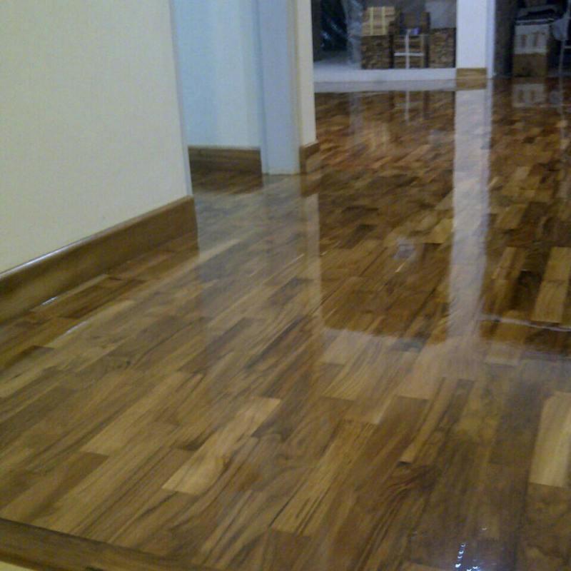 jenis lantai kayu