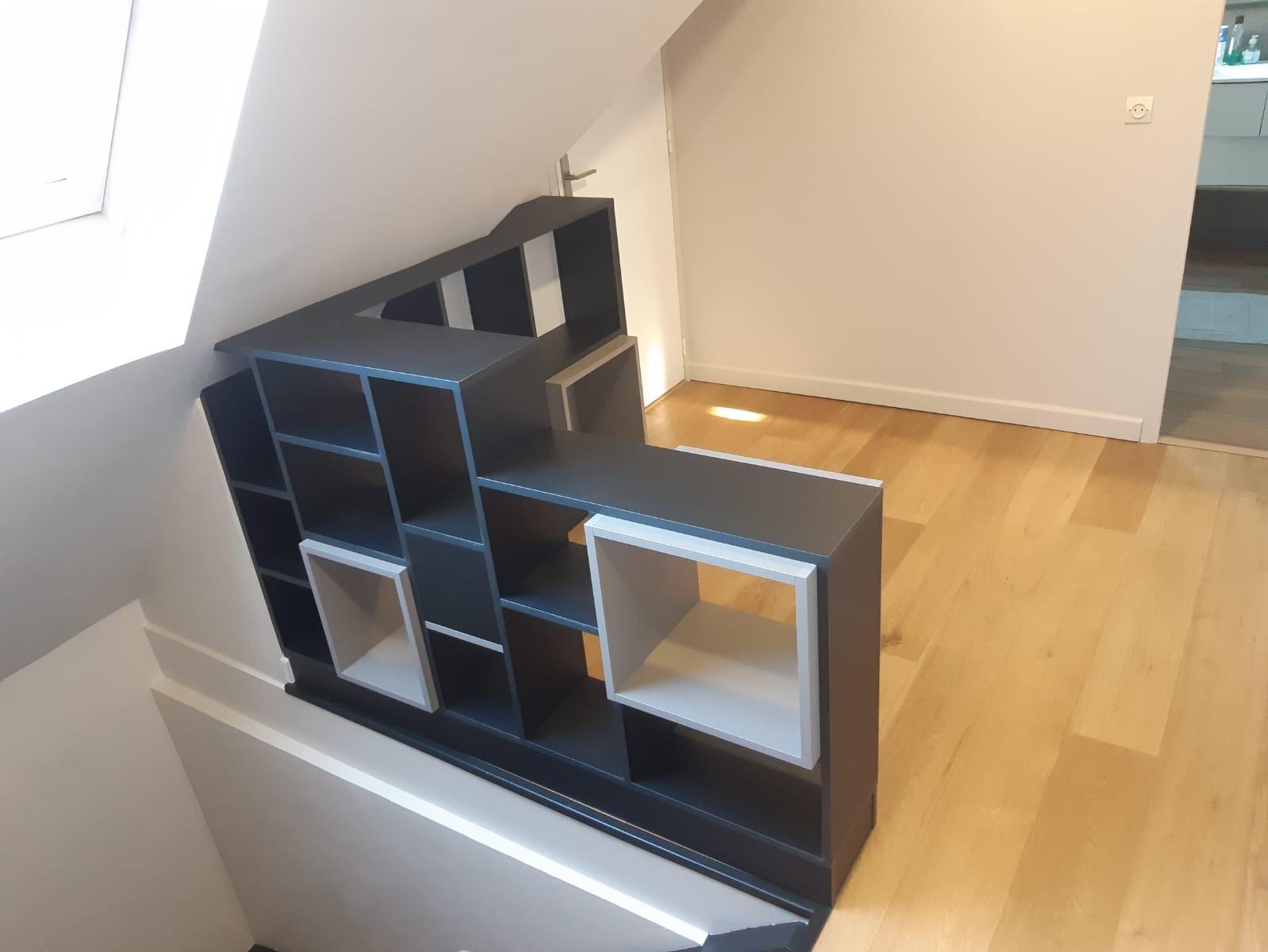 meuble separation de piece et garde