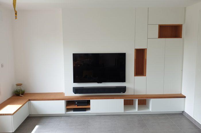 agencement de meuble tv sur mesure