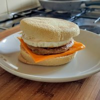 Recipe - Vegetarian Sausage and Egg McMuffin