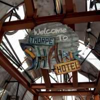 Review - Thorpe Shark Hotel - Bite Sized Accomodation