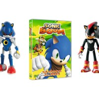 Competition - Win a Sonic Boom DVD and a bundle of Sonic Figurines
