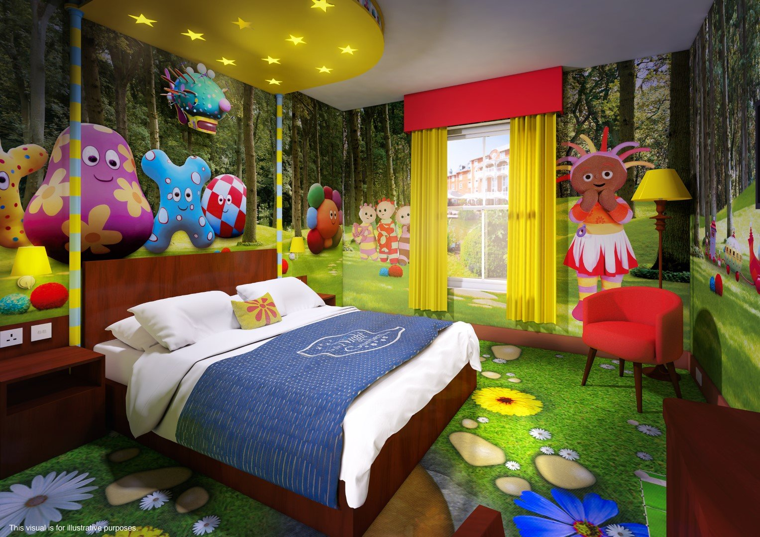 Garden Bedroom Decor – Home Design And Decorating