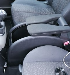 how to fit a sliding armrest into a renault scenic [ 3968 x 2240 Pixel ]