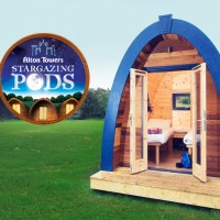 Alton Towers Stargazing Pods - New Accomodation for 2019
