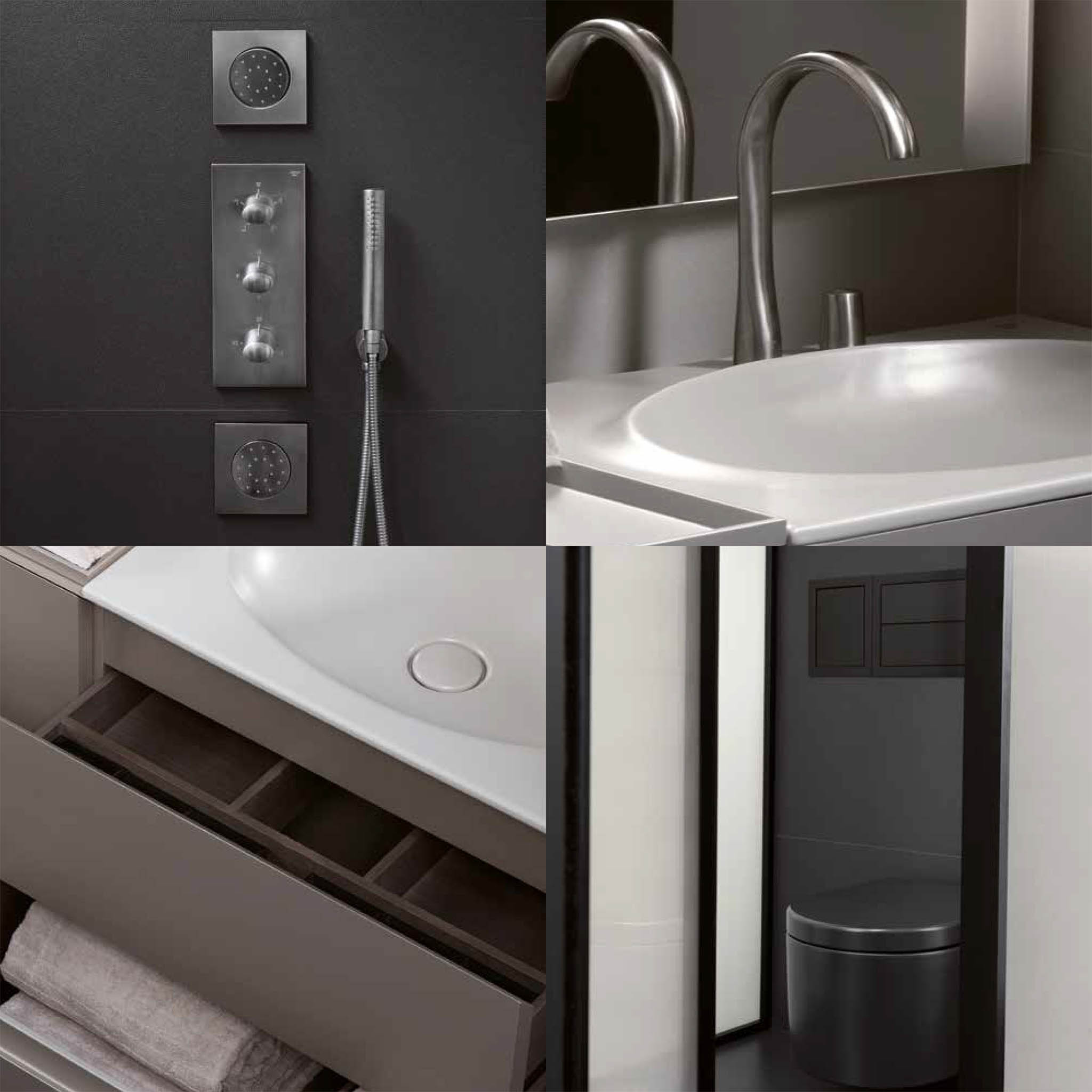 quality brand kitchen cabinets home styles cart il bagno: sanitary ware in cyprus