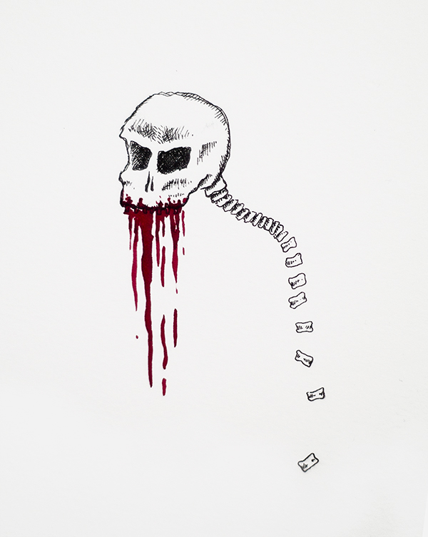 Spineless horror | Illustration by Kira Bang-Olsson