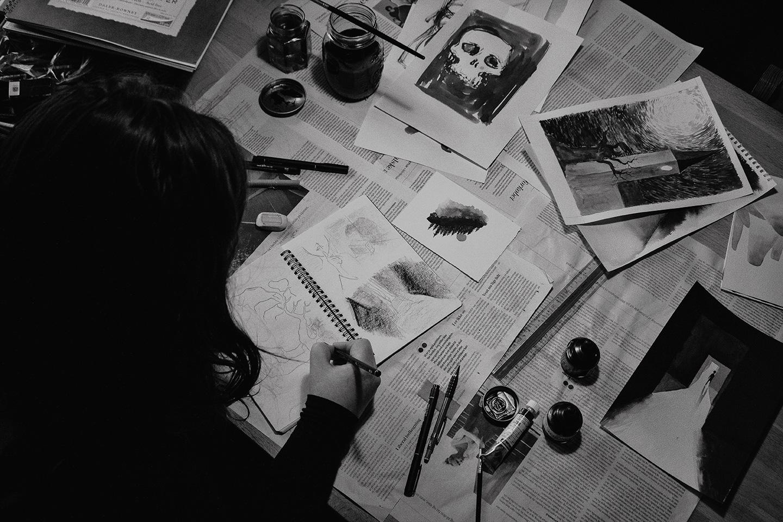 Illustrator Kira Bang-Olsson