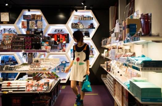 Evangelion Store in Harajuku