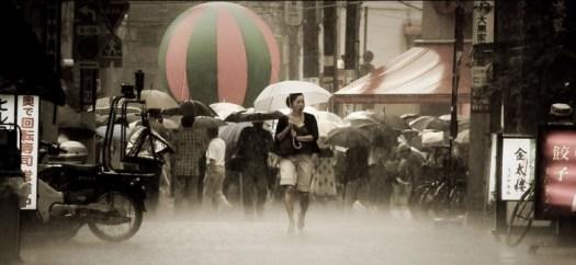 Tsuyu, the rainy season in Japan