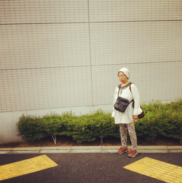 yellow lines in tokyo