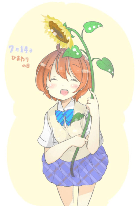 Sunflower Day in japan