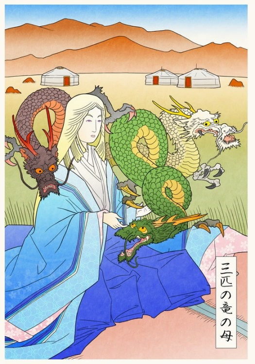 Game of thrones Ukiyo-e