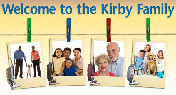 Happy Kirby vacuum owners