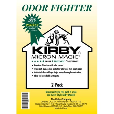 Kirby Bags - Charcoal Layer for Odor Control