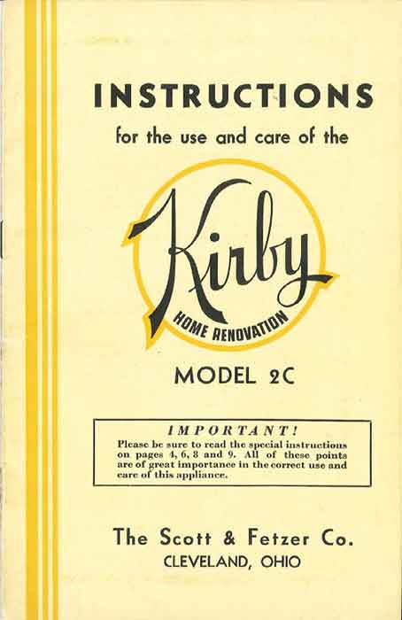 Download the Kirby Model 2C Manual.
