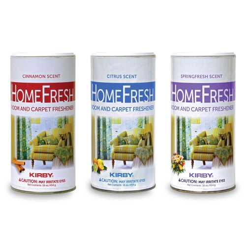 homefresh 3 pack powder carpet freshener
