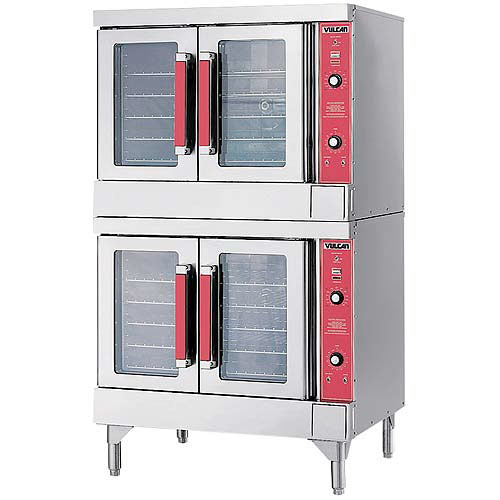 vulcan kitchen equipment modern sinks shop convection ovens cooking at kirby double deck full size electric oven vc44ed