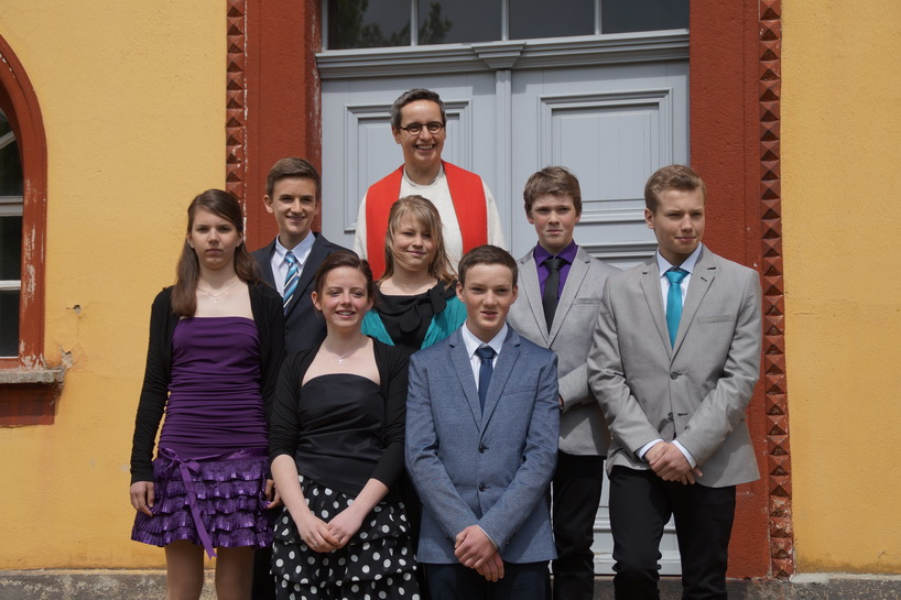 Konfirmation 2014 in Kemnitz