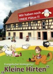 """Bild vom Faltblatt """"Kindergarten - Kleine Hirten - Niedergräfenhain"""""""