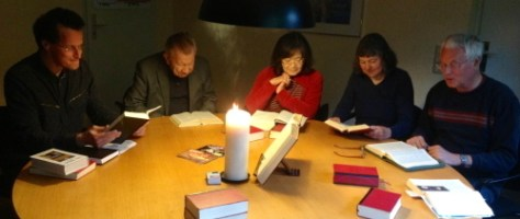 Predigtvorbereitung interaktiv in der Sakristei