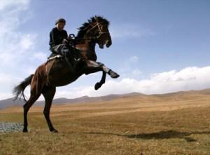 Chevauchée Kirghize
