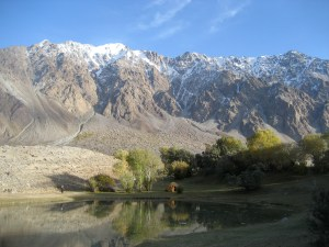 Great cities of the Silk Road and Pamir mountains