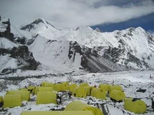 A l'assault Camp de base : Pobeda - Khan Tengry