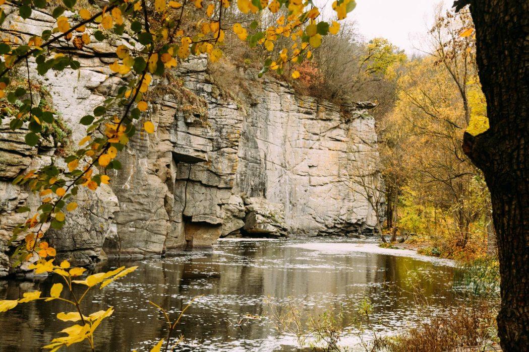 Каньон в Украине село Буки