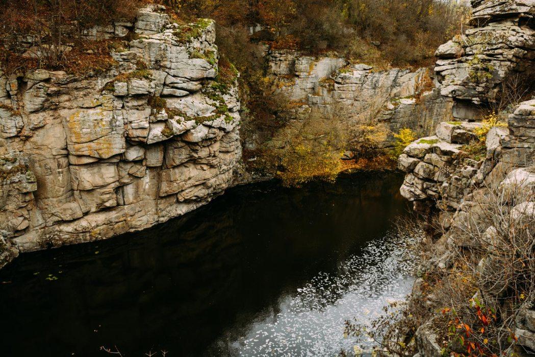 Букский каньон осенью