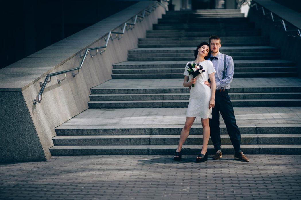 Свадебная фотосессия Николаевский костел